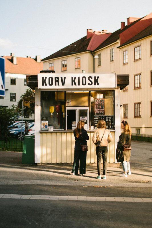 Korvkiosk vid Ärlegatan