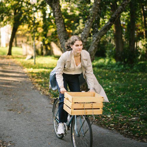 Cykla vid Ärlegatans område