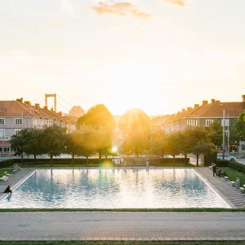 Området runt Ärlegatan, pool